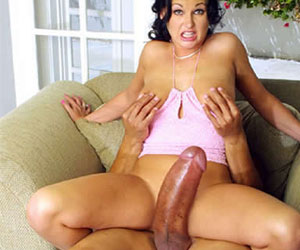 Short haired girl rides huge dick anal at HomeMoviesTubecom